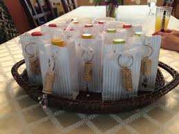 gifts for wine themed wedding shower small bottle of wine and