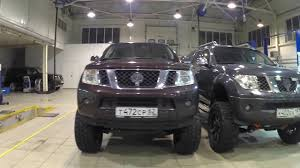 nissan pathfinder winch bumper nissan pathfinder lifted 27cm and nissan navara lifted 28cm on