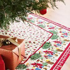 merry go round tree skirt allpeoplequilt com