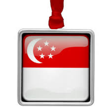 country of singapore ornaments keepsake ornaments zazzle