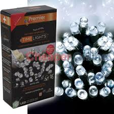 battery operated lights with timer premier battery operated multi function outdoor led timer christmas