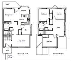 Stair Floor Plan House Floor Plans Stairs Pinned By Www Modlar Com Stairs