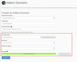 Domain Manager Title How To Create An Add On Domain In Cpanel