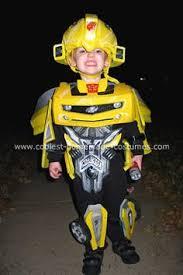 Bumblebee Transformer Halloween Costume Coolest Homemade Transforming Bumblebee Kids Costume