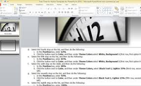 free time for action template for powerpoint 2010