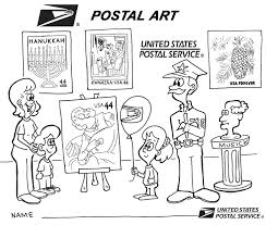 8 images of us post office symbol coloring page post office