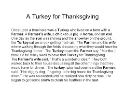 thanksgiving songs poems and chants turkey and the