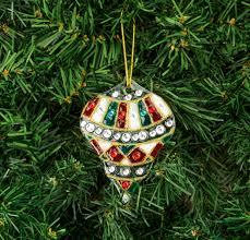 nicole crafts moroccan glass ornament ornaments craft