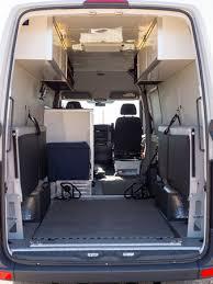 Sprinter Bench Seat Sprinter Rv Diy Sprinter Rv Conversion Gallery