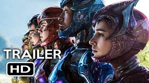 power rangers official trailer 1 2017 bryan cranston elizabeth