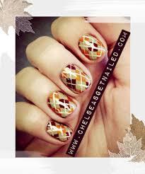 fall and thanksgiving nail designs nail ideas