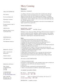 Sample Resume Dentist by Orthodontist Resume Orthodontist Career Rankings Salary Reviews