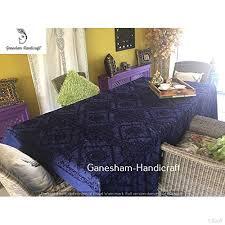 canape indien indien travail lit propagation vintage housse de canapé et couvre