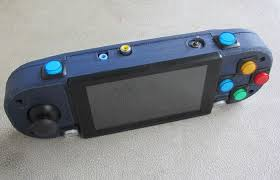 Design Your Own Home Game 3d Printed Psp Pistation Portable
