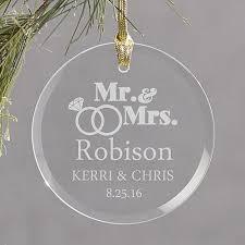 engraved wedding gifts custom engraved wedding rings glass ornament gourmet