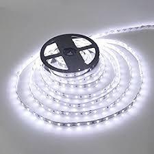 waterproof led ribbon lights wentop waterproof led strip lights smd 3528 16 4 ft 5m 300 led