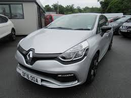 used 2016 renault clio 1 6t 16v renaultsport lux nav 200 5dr auto
