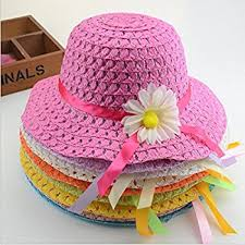 tea party hats dr luck cutie collections straw baby hat