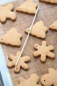 cinnamon gingerbread ornaments recipe beanilla
