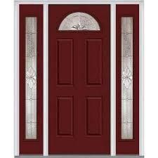 front doors with side lights single door with sidelites steel doors front doors the home depot