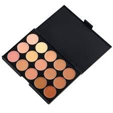 color concealer 15 colors concealer eyeshadow contour palette brush sponge face