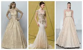 non white wedding dresses nonwhite wedding dresses pink gold blue green gray