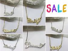 necklaces with your name necklace ebay