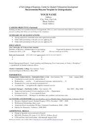 resume exle for college student current college student resume sle