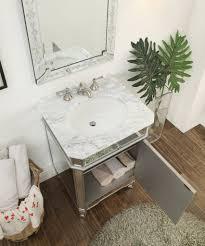 Powder Room Sink Vanity 24 U201d Mirror Reflection Silver Asger Powder Room Bathroom Sink