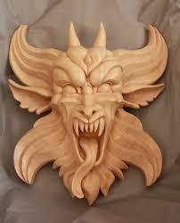 wood carved gargoyle by mouser00 on deviantart