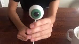 eyeball cake pops youtube
