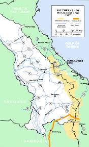 Hmong Map Laotian Civil War Howlingpixel