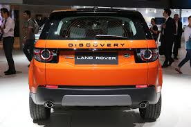 orange range rover sport jaguar land rover show f type manual and awd discovery sport at l a