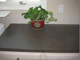 How To Install A Laminate Kitchen Countertop - diy spray paint laminate countertops use krylon fusion for base
