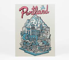 Portland Neighborhood Map by Portland At Buyolympia Com