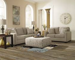 Fabric Sofas And Couches Benchcraft Rustic Fabric Sofas