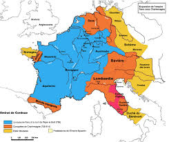 Map Of Medieval Europe A Brief History Of Charlemagne For Young Children Carolingian