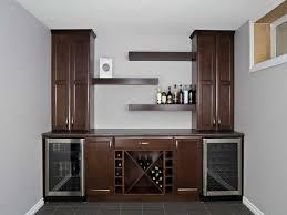 Indoor Bar Cabinet Dining Room Extraordinary Cottage Remodel Cliqstudios