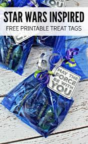 wars party favors wars party favors free printable treat tags