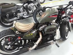 forty eight custom the gaming biker