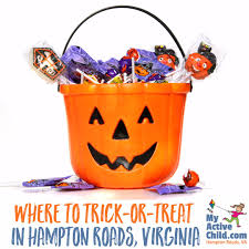 trick or treating events in hampton roads my active child
