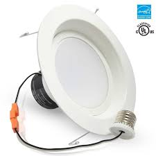 retrofit led recessed lighting 18watt 5 and 6 inch energy star ul classified dimmable retrofit led