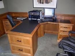2 Person Desk For Home Office Make Your Place Creative With 2 Person Desk Designinyou Decor