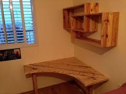 Corner Desk Diy Captivating Built In Corner Desk Ideas Diy Pallet Desk With