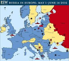 Europe Russia Map Russia In Europe May 1 June 14 2016 Right Side News