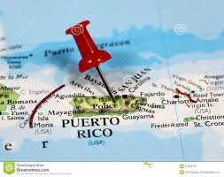 Map Of Puerto Rico Puerto Rico Map Stock Images 49 Photos