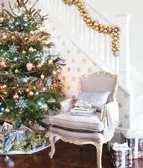 Christmas Railing Decorations 10 Elegant Gold Christmas Ideas House Design And Decor