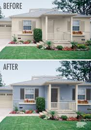 before and after curb appeal photos staging tips pinterest
