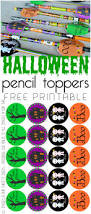 free halloween gift tags printable halloween pencil toppers our thrifty ideas