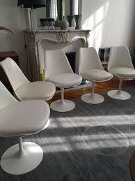 chaises tulipe authentiques chaises tulipe saarinen édition knoll l atelier 50